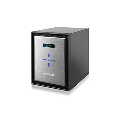 Netgear ReadyNAS 526x 6-bay Insight Managed Smart Cloud Network Storage, 4 GB RAM, 3 USB 3.0 Ports, 10 Gigabit Ethernet, Mini Tower - RN526X00-100NES