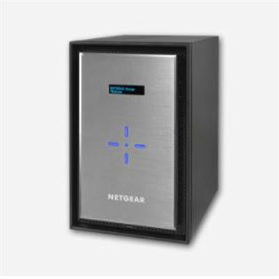 Netgear ReadyNAS 528X Premium Performance Business Data Storage, 8 Bay Diskless NAS, 4GB RAM, 3 USB Ports, RJ-45 - RN528X00-100NES