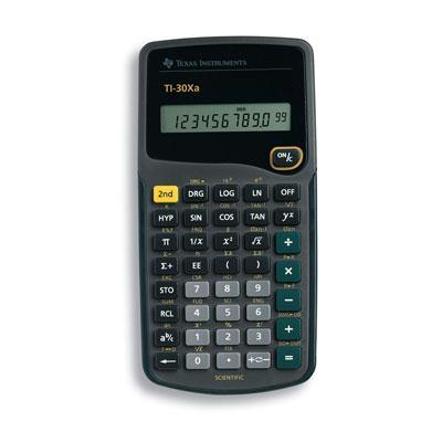 Texas Instruments TI-30Xa Scientific Calculator 30XA/TBL/1L1/H