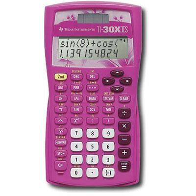 Texas Instruments TI-30X IIS Scientific Calculator Pink Calculator 30XIIS/TBL/1L1/AZ