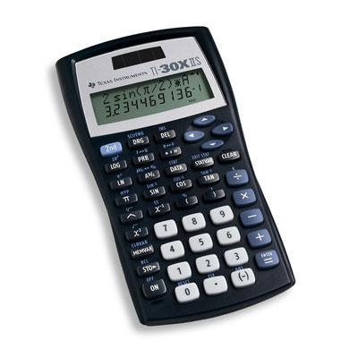 Texas Instruments TI30XIIS Dual Power Scientific Calculator TI-30X-IIS