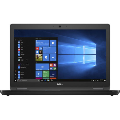 "Dell Latitude 5580 Notebook 15.6"" FHD Intel Core i5 2.60GHz 8GB RAM 500GB SATA Windows 10 Pro-64 Bit T6YG7"