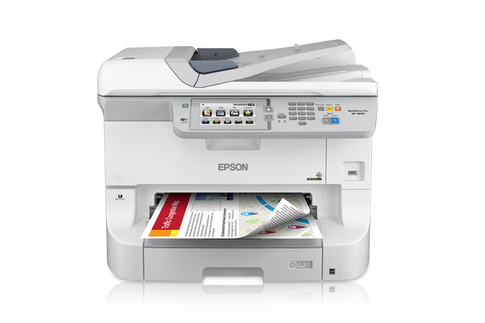 Epson Workforce Pro WF-8590 Inkjet Color Printer / Copier / Scanner / Fax C11CD45201