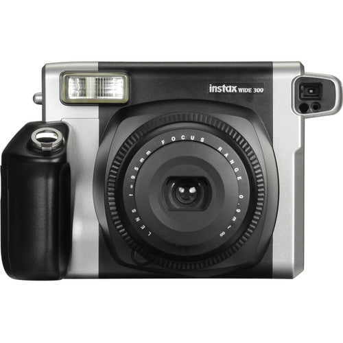 Fujifilm Instax Wide 300 Instant Camera, Instant Color Film Camera, Black- 16445783