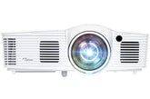 Optoma Full HD DLP Data Projector, 3000-Lumens, 28K:1-Contrast, Gaming Projector with Speakers, White - GT1080DARBEE