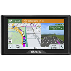 "Garmin Drive 61 LMT-S Automobile Portable GPS Navigator, 6.1"" Touchscreen Color Display, Mountable, Black - 010-01679-0C"