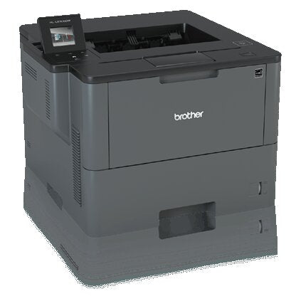 Brother Business Monochrome Laser Printer, 256MB Memory, 520 sheets, 48 ppm, WiFi, Duplex Printing - HL-L6300DW