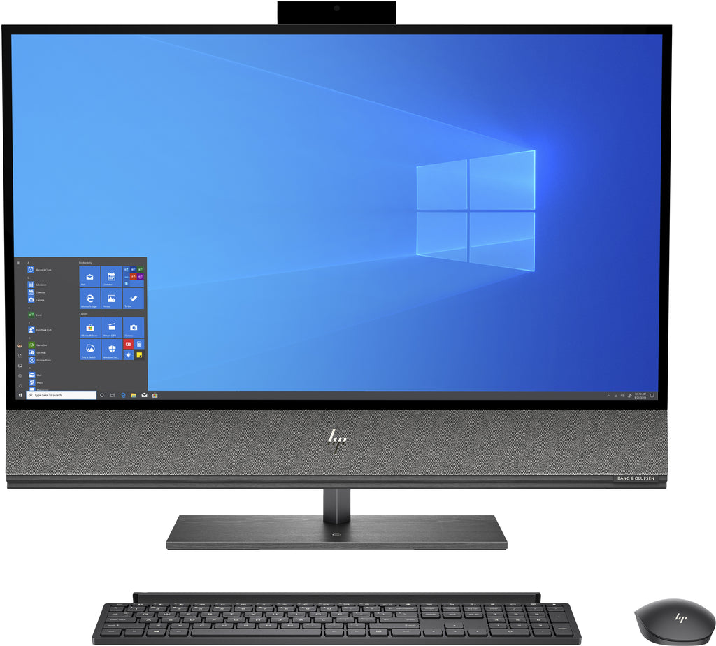 "HP Envy 32-a1050 31.5"" 4K UHD All-in-One PC, Intel i7-10700, 2.90GHz, 32GB RAM, 1TB SSD, Win10H - 1K0A6AA#ABA"