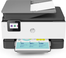 HP OfficeJet Pro 9015 All-in-One Color Inkjet Printer, 22 ppm Black, 18 ppm Color, 4800 x 1200 dpi, 512 MB Memory, WiFi, Ethernet, USB 2.0, Duplex Printing - 1KR42A#B1H