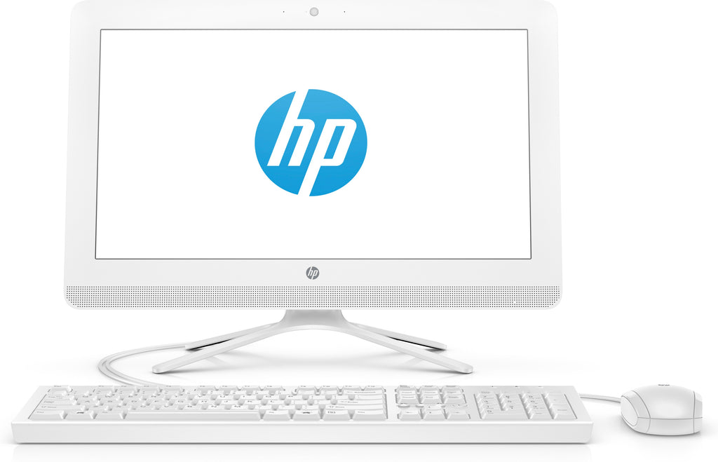 "HP 20-c410 (NON-TOUCH) All-in-One Desktop PC, 19.5"" HD+, Intel Celeron J4005, 2.00GHz, 4GB RAM, 1 TB HDD, Windows 10 Home 64-Bit- 3KZ89AA#ABA (Refurbished)"