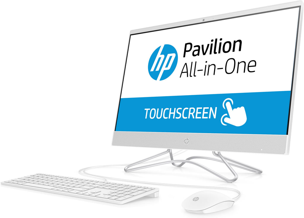 "HP Pavilion 24-F0040C All-in-One PC 23.8"" FHD Touch AMD:A9-9425 3.10GHz 8GB RAM 1TB HDD 3LA00AA#ABA(Certified Refurbished)"