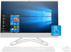 "HP Pavilion 24-f0022ds All-in-One Touchscreen Desktop PC 23.8"" FHD AMD A9-9425 3.10GHz 8GB RAM 1TB SATA Windows 10 Home 3LB02AA#ABA"