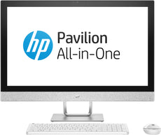"HP Pavilion 27-r109 All-in-One Desktop Computer, 27"" FHD (Touchscreen) Display, Intel Core i5-8400T, 1.70GHz, 16GB RAM, 1TB SATA + 16GB Optane Memory,  Windows 10 Home 64-Bit - 3LB55AA#ABL (Certified Refurbished)"