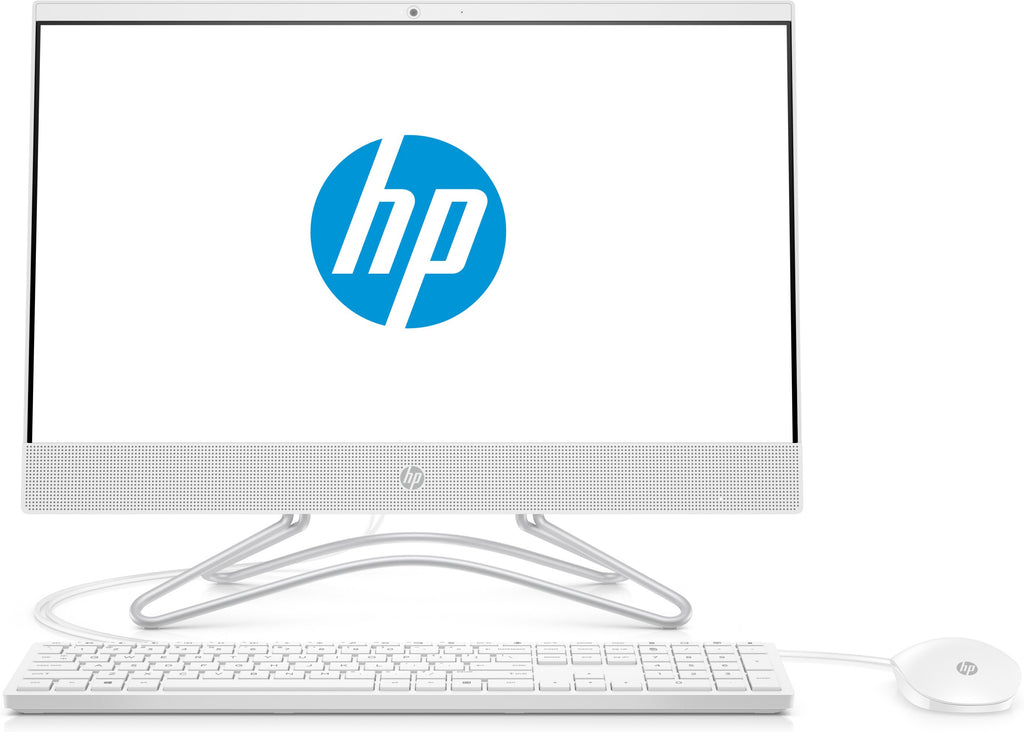 "HP 22-c0063w (NON-TOUCH) All-in-One PC, 21.5"" FHD, Intel Celeron G4900T, 2.90GHz, 4GB RAM, 1 TB HDD, Windows 10 Home 64-Bit- 3LB95AA#ABA (Certified Refurbished)"