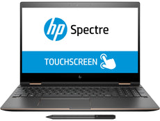 "HP Spectre x360 15-ch011nr 15.6"" 4K Touch Notebook Intel Core i7 1.80GHz 16GB 512 GB SSD Windows 10 Home 3MU06UA#ABA"