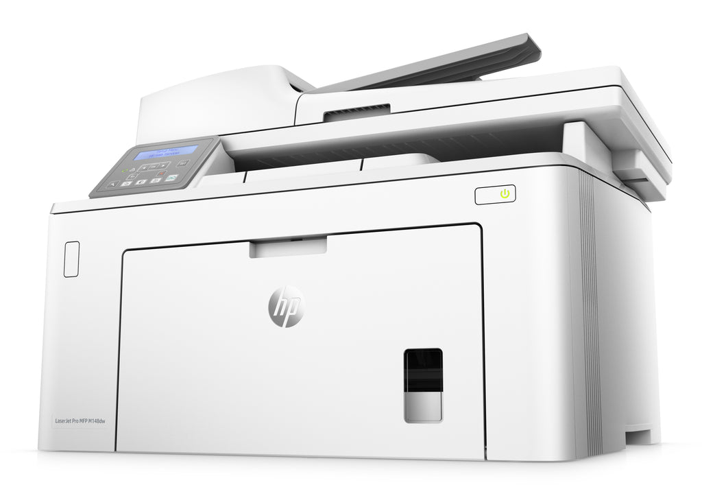 HP LaserJet Pro M148fdw All-in-One Monochrome Laser Printer, 30 ppm, 1200X1200 dpi, 256MB Memory, Wireless, Ethernet, USB - 4PA42A#BGJ (Certified Refurbished)