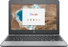 "HP 11-v032nr 11.6"" HD (Touchscreen) Chromebook, Intel Celeron N3060, 1.60GHz, 4GB RAM, 16GB eMMC, Chrome OS - 4PT66UA#ABA"
