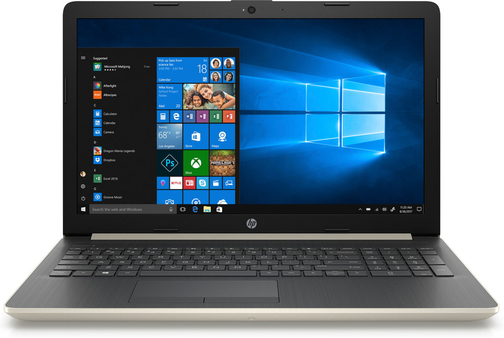"HP 15-da0007ds 15.6"" HD Notebook Intel N4000 1.10GHz 4GB RAM 1TB SATA 4QU55UA#ABA"