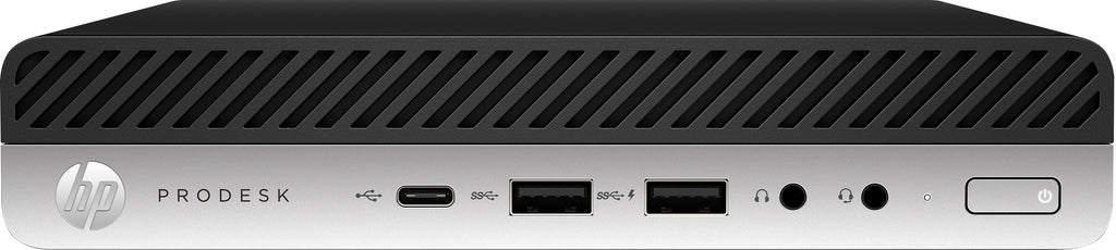 HP ProDesk 600 G4 Business Mini PC, Intel i5-8500T, 2.10GHz, 8GB RAM, 256GB SSD, Windows 10 Pro 64Bit - 5JQ98UP#ABC