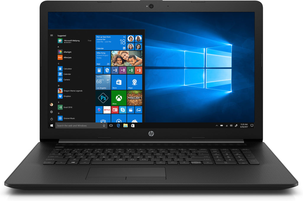 "HP 17-by0021dx 17.3"" HD+ Notebook, Intel Core i5, 1.60GHz, 8GB RAM, 1TB HDD SATA, Windows 10 Home - 4WW74UA#ABA (Certified Refurbished)"
