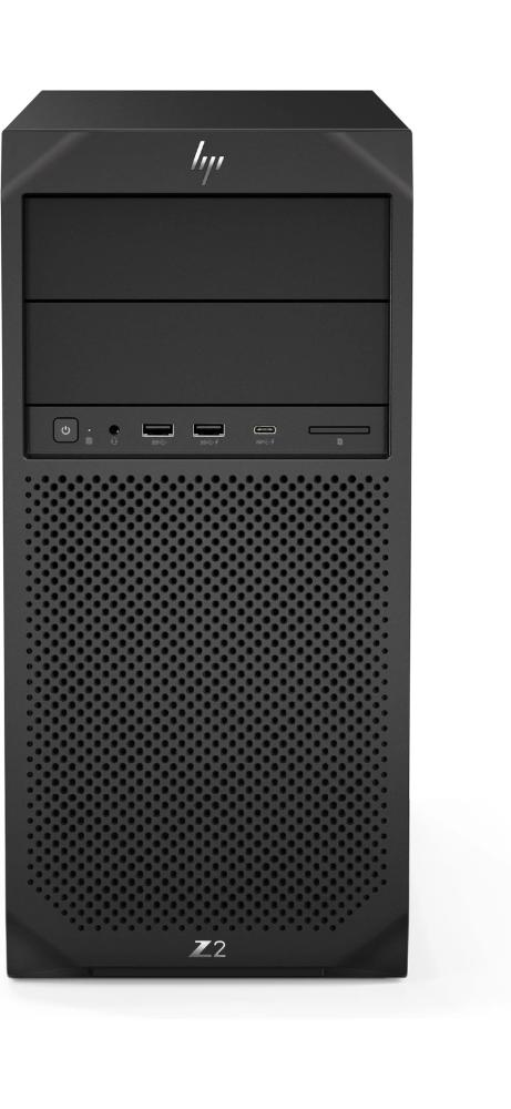 HP Z2-G4 Tower Workstation PC, Intel Xeon E-2104G, 3.20GHz, 16GB RAM, 512GB SSD, Win10P - 1F4F0UW#ABA