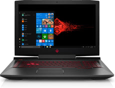 "HP OMEN 17-an179wm 17.3"" Full HD (Non-Touch) Gaming Laptop, Intel:i7-8750H, 2.20GHz, 16GB RAM, 1TB HDD, Windows 10 Home 64-Bit - 5GN02UA#ABA"