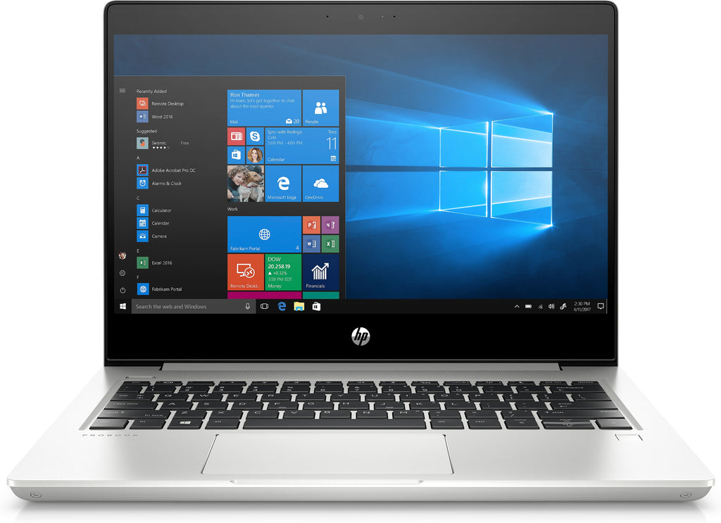 "HP ProBook 430-G6 13.3"" FHD (Non-Touch) Notebook PC, Intel i5-8265U, 1.60GHz, 4GB RAM, 128GB SSD, Windows 10 Pro 64-Bit - 5VD73UT#ABA"