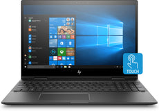 "HP ENVY X360 15-cp0053cl 15.6"" FHD Touch Convertible Notebook, AMD:R5-2500U, 2.00GHz, 8 GB RAM, 256 GB SSD, Windows 10 Home 64-Bit - 6EH45UA#ABA (Certified Refurbished)"