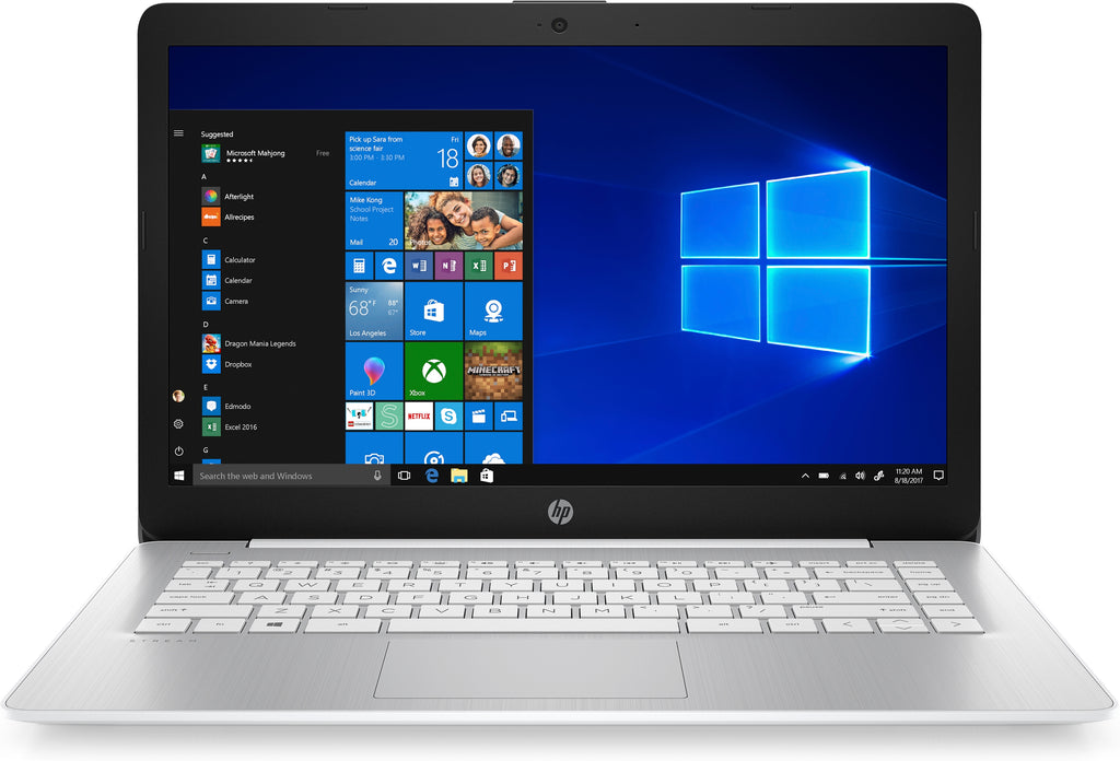 "HP Stream 14-ds0030nr 14"" HD (Non-Touch) Notebook, AMD A4-9120e, 1.50GHz, 4GB RAM, 32GB eMMC, Windows 10 Home in S mode - 6ZC05UA#ABA"