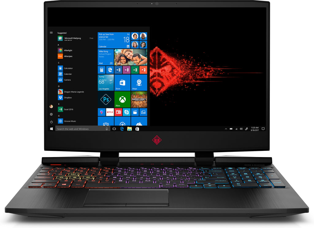 "HP OMEN 15-dc1086nr 15.6"" FHD (NonTouch) Laptop,Intel:i7-9750H, 2.60GHz,12GB RAM, 256GB SSD, W10H-6UD95UA#ABA (Certified Refurbished)"