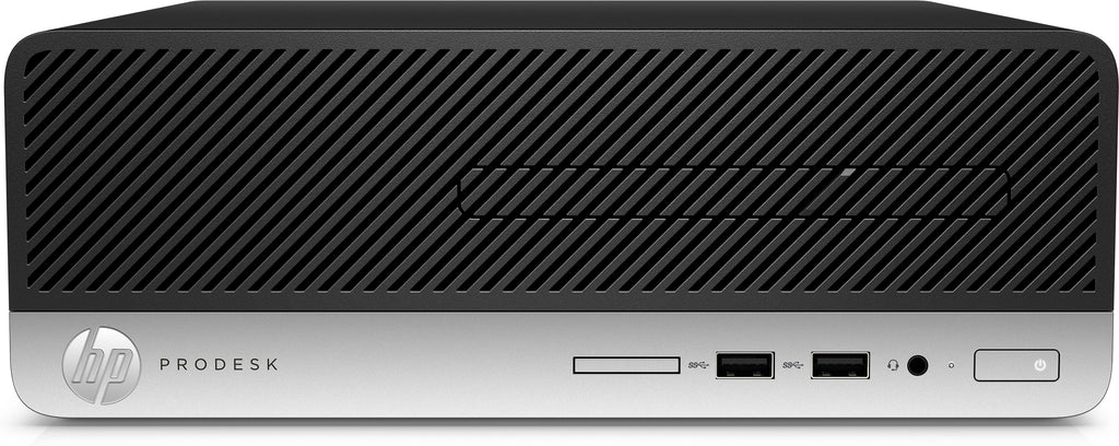 HP ProDesk 400-G5 SFF Business PC, Intel i5-8500, 3.00GHz, 4GB RAM, 500GB HDD, Windows 10 Pro 64-Bit - 6MT98U8#ABA