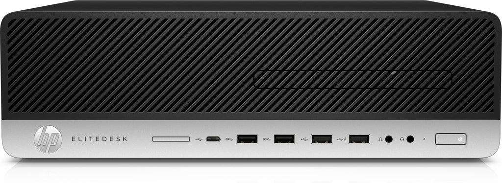 HP EliteDesk 800-G5 SFF Desktop, Intel i5-9500, 3.0GHz, 8GB RAM, 256GB SSD, Win10P - 2Y1D7UT#ABA