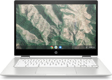 "HP Chromebook x360 14b-ca0013dx 14"" HD (Touchscreen) Convertible Notebook, Intel Celeron N4000, 1.10GHz, 4GB RAM, 32GB eMMC, Chrome OS - 7PD76UA#ABA (Certified Refurbished)"