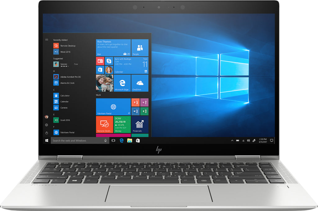 "HP EliteBook X360 1040-G6 14"" FHD (Touch) Convertible Notebook,Intel Core i5-8365U, 1.60GHz, 16GB RAM, 512GB SSD, Win 10 Pro 64-7XV79UT#ABA"