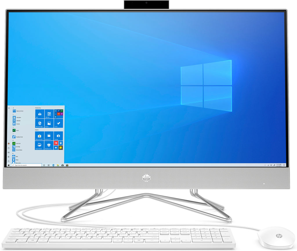 "HP 27-dp0160 27"" FHD All-in-One Computer, AMD R5-4500U, 2.30GHz, 16GB RAM, 512GB SSD, Win10H - 9ED73AA#ABA"