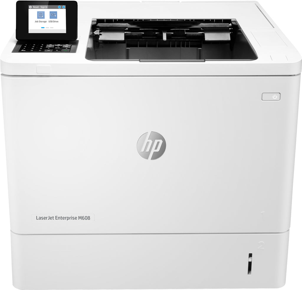 HP LaserJet Enterprise M608n Monochrome Laser Printer, 65 ppm, 1200X1200 dpi, 512MB Memory, Ethernet, USB - K0Q17A#BGJ (Certified Refurbished)