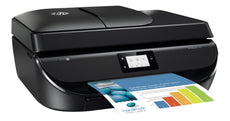 HP OfficeJet 5255 All-in-One Color Printer, 10 ppm Black, 7ppm Color, 4800 x 1200 dpi, 256 MB Memory, WiFi, Hi-Speed USB 2.0, Duplex Printing - M2U75A#B1H
