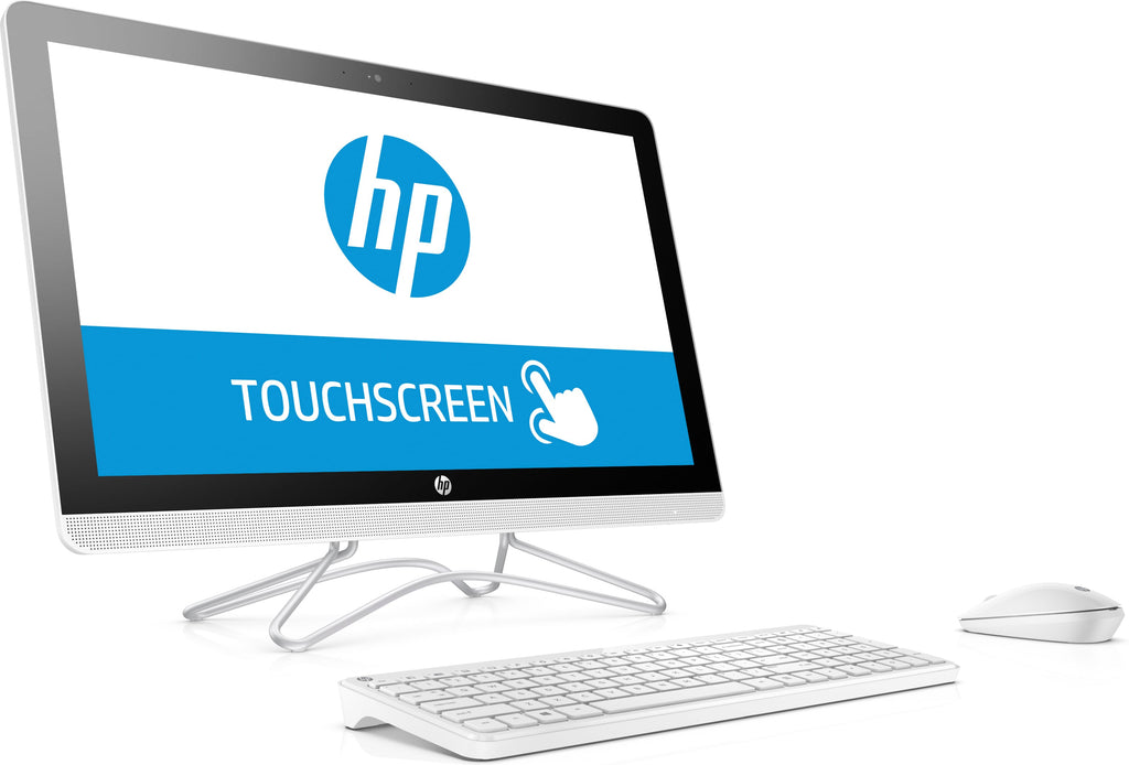 "HP 24-e048cy (Touchscreen) All-in-One PC, 23.8"" FHD, AMD A9-9400, 2.40GHz, 4GB RAM, 1TB HDD SATA, Windows 10 Home 64-Bit- Z5P45AA#ABA"