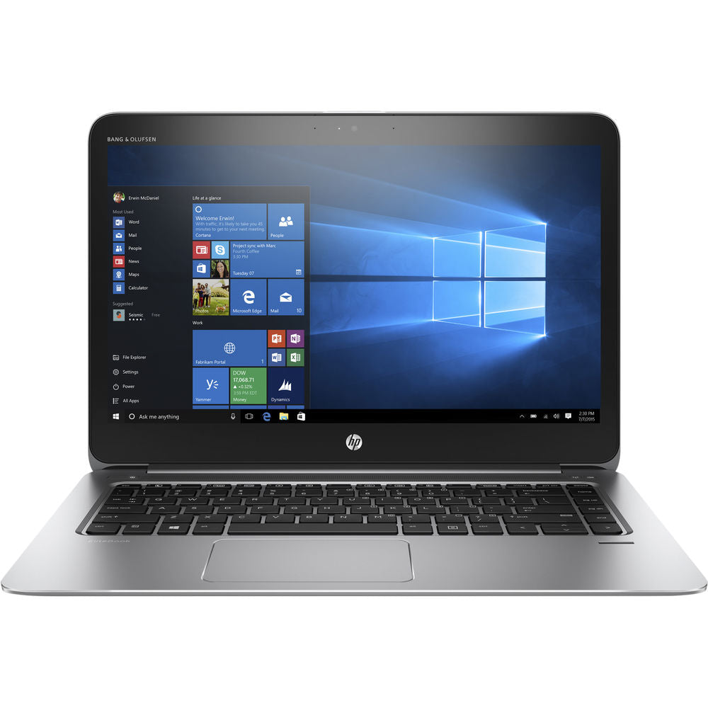 "HP Elitebook 1040-G3 14"" QHD Notebook Touch Screen Intel Core i7 2.50GHz 8GB RAM  512GB SSD 4WR09U8#ABA"