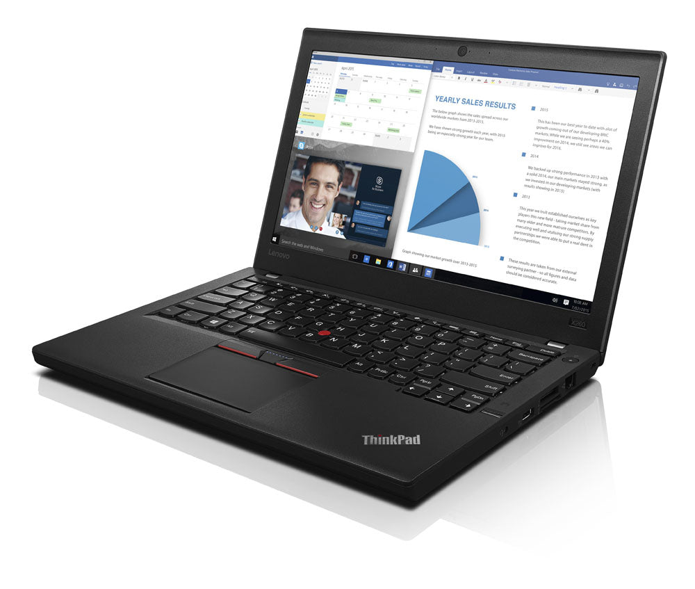 "Lenovo Thinkpad X260 Notebook 12.5"" HD Intel Core:i5 2.30GHz 8GB RAM 180GB SSD"