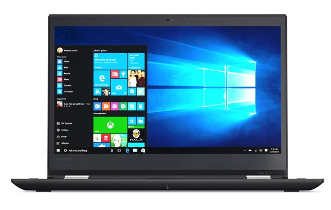 Lenovo ThinkPad Yoga 370 Convertible Notebook Intel Core i7 2.70GHz 16GB RAM  256GB SSD Windows 10 Pro-64 Bit 20JH0028US