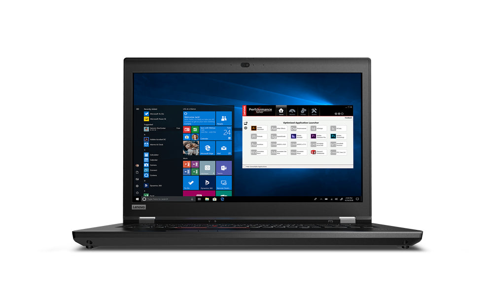 "Lenovo ThinkPad P73 17.3"" FHD Mobile Workstation, Intel i7-9850H, 2.60GHz, 16GB RAM, 512GB SSD, Win10P - 20QR000NUS"