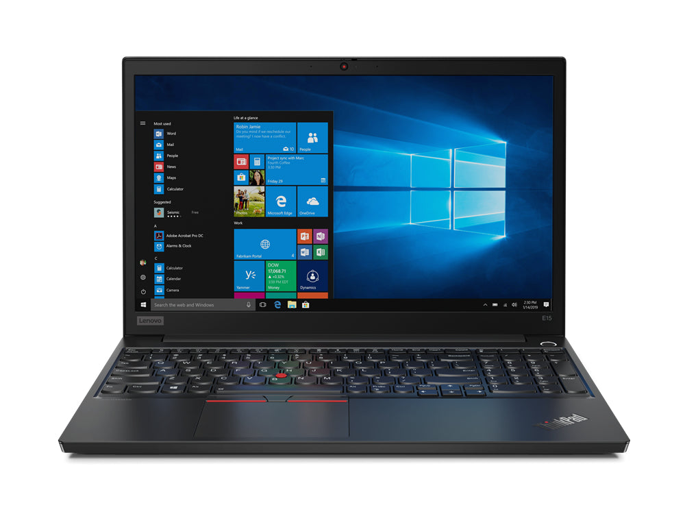 "Lenovo ThinkPad E15 15.6"" FHD Notebook, Intel i3-10110U, 2.10GHz, 8GB RAM, 1TB HDD, Win10P - 20RD005JUS"