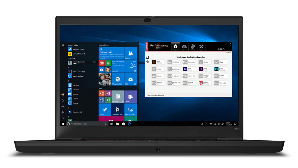 "Lenovo ThinkPad P15v Gen-1 15.6"" FHD Mobile Workstation, Intel i7-10850H, 2.70GHz, 16GB RAM, 512GB SSD, Win10P - 20TQ0026US"
