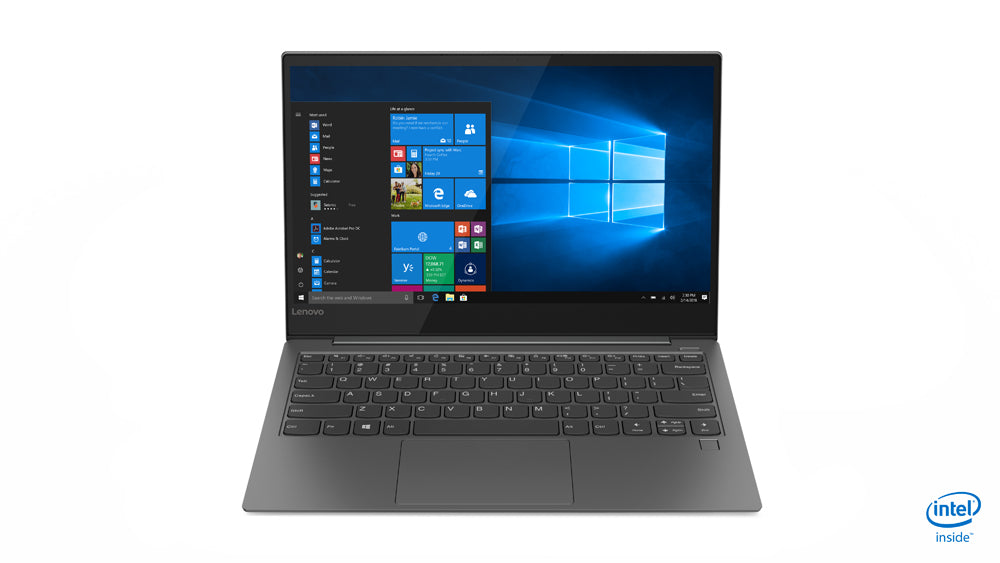 "Lenovo IdeaPad 730S-13IWL Notebook, 13.3"" Full HD (Non-Touch) Display, Intel Core i5-8265U, 1.60 GHz, 8GB RAM, 256GB SSD, Windows 10 Home 64-Bit - 81JB0004US"