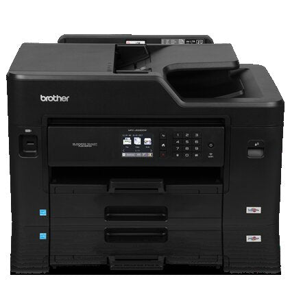Brother MFC Business Smart Inkjet All-in-One Color Printer, 128MB Memory, Ethernet, Wireless, Color Touchscreen LCD Display - MFC-J5330dw