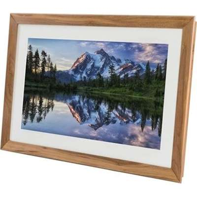 "Netgear Meural Canvas Winslow Waln, 27"" FHD Smart Art Digital Frame, Walnut- MC227HW-100PAS"
