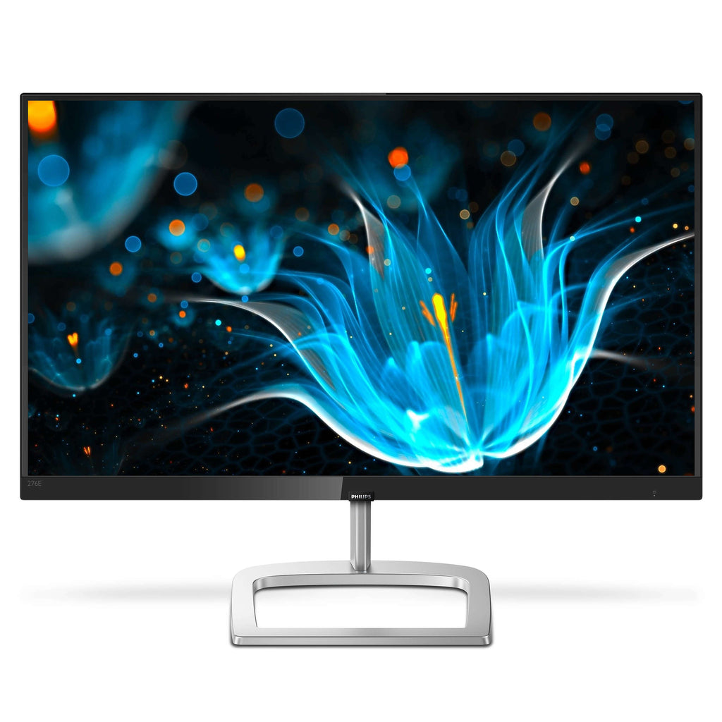 "Philips 27"" Full HD IPS LED Computer Monitor, 16:9, 4ms, 20M:1-Contrast, 75Hz, Black - 276E9QDSB-B (Certified Refurbished)"