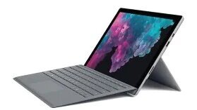 "Microsoft Surface Pro-6 12.3"" PixelSense (Touchscreen) Commercial Tablet, Intel Core i5-8250U, 1.60Ghz, 8GB RAM, 256GB SSD, Windows 10 Pro-64Bit, Platinum- LSF-00001 (Certified Refurbished)"