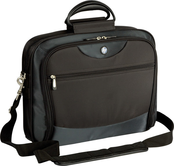 "HP 15.4"" Evolution Plus Nylon Case, Top-load Case for Notebooks, Carry Handles, Trolley strap  - PE838A"